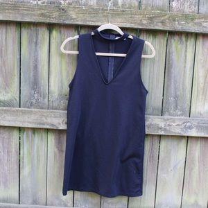 Cute Zara 70s style black dress